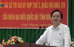 Đoàn đại biểu Quốc hội tỉnh Bình Định tiếp xúc cử tri