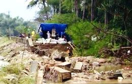 15 tuyến đê sông bị vỡ, uy hiếp nhà dân tại Bình Định