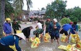Mưa lũ liên tiếp, Bình Định di dời khẩn cấp hộ dân vùng sạt lở