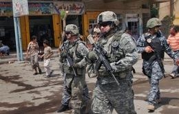 Mỹ triển khai thêm binh sĩ hỗ trợ Chính phủ Iraq chống IS