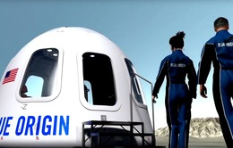 Tàu vũ trụ chở khách Blue Origin hạ cánh thành công