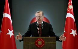 Tổng thống Thổ Nhĩ Kỳ công bố sắc lệnh sau đảo chính