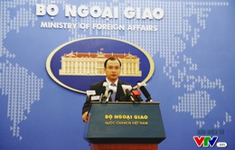 Yêu cầu Trung Quốc chấm dứt ngay các hoạt động vi phạm chủ quyền của Việt Nam