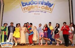 Bước nhảy ngàn cân mùa 2 ra mắt dàn thí sinh trăm ký