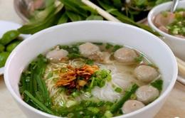 Phở bò viên - món ăn đường phố ngon nhất châu Á