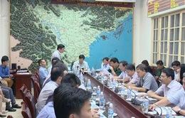 Bộ trưởng Bộ NN&PTNT chỉ đạo khắc phục thiệt hại của cơn bão số 1