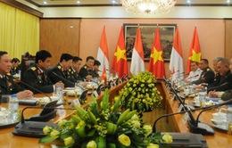 Bộ trưởng Ngô Xuân Lịch tiếp Bộ trưởng Bộ Quốc phòng Indonesia