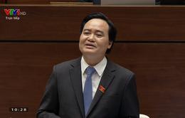 """Bộ trưởng Bộ GD&ĐT: Không thể nhắc bài trắc nghiệm bằng cách """"ho"""""""