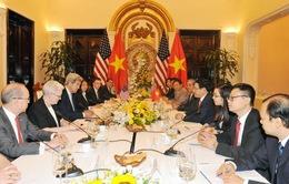 Phó Thủ tướng, Bộ trưởng Bộ Ngoại giao Phạm Bình Minh hội đàm với Ngoại trưởng Hoa Kỳ John Kerry