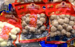 4 mẫu bò viên của Công ty Việt Sin chứa Ure