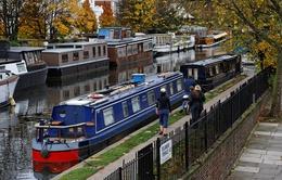 """Nhà thuyền - Giải pháp thời """"bão giá"""" bất động sản tại London"""