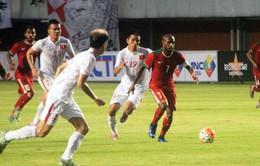 ĐT Việt Nam bị chủ nhà Indonesia cầm hòa dù dẫn trước 2 bàn