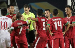 Trọng tài Trung Quốc bắt chính trận lượt về giữa ĐT Việt Nam và ĐT Indonesia