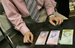 Venezuela đưa vào lưu hành 9 loại tiền mệnh giá mới đối phó lạm phát