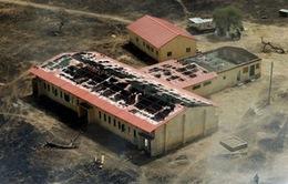 Boko Haram tăng cường sử dụng trẻ em đánh bom liều chết