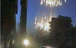 Xuất hiện video cho thấy bom cháy được sử dụng tại Aleppo, Syria
