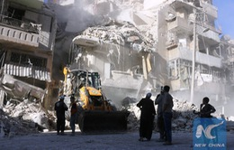 Bệnh viện lớn nhất tại Aleppo bị trúng bom