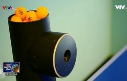 Trainerbot - Thiết bị chơi bóng bàn tự động