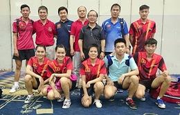 Bóng bàn Việt Nam làm nên lịch sử với 2 chức vô địch sớm 1 vòng đấu