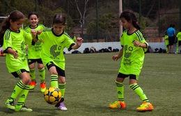 VIDEO: Lớp học bóng đá tại trại tị nạn ở Lebanon