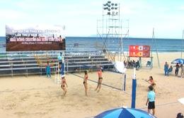 Vòng 2 giải bóng chuyền bãi biển Toàn quốc 2016