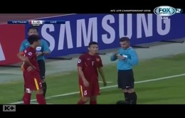 VIDEO Cận cảnh pha bóng khiến U19 Việt Nam mất người và bị thủng lưới