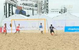 Giao hữu bóng đá bãi biển Việt Nam - Nhật Bản