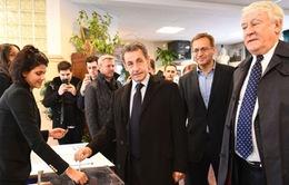 Cựu Tổng thống Pháp Nicolas Sarkozy bị loại ở vòng một bỏ phiếu sơ bộ