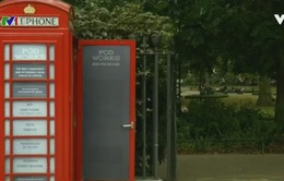 Bốt điện thoại ở London chuyển thành văn phòng