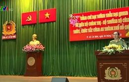 Bộ trưởng Trần Đại Quang đến thăm và làm việc với Công an TP.HCM