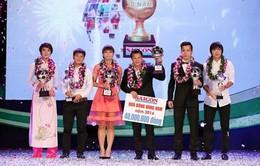 Gala trao giải Quả bóng Vàng Việt Nam 2015: Căng thẳng tới phút chót