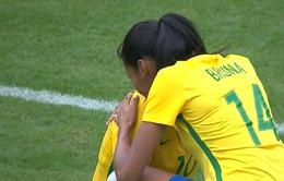 Kết quả bán kết bóng đá nữ Olympic Rio 2016: Brazil thất bại, Đức trả nợ thành công