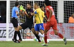 SỐC: ĐT Brazil bị loại khỏi Copa America 2016 sau bàn thắng gây tranh cãi