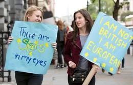 Gần 3 triệu người Anh kêu gọi bỏ phiếu lại về việc rời EU