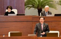 VIDEO: Toàn bộ phiên chất vấn Bộ trưởng Bộ Nội vụ Lê Vĩnh Tân