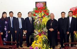 Bí thư Thành ủy Hà Nội thăm Tòa Tổng Giám mục Hà Nội
