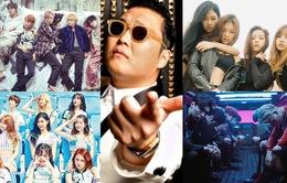 10 MV nhạc Hàn được xem nhiều nhất trên YouTube trong 2016