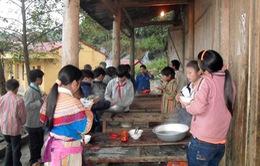 Hiệu quả từ những bữa ăn bán trú cho học sinh vùng cao Sơn La