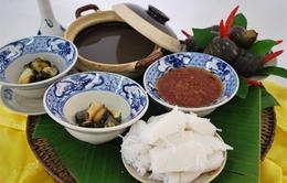 Bún ốc nguội - món ăn tinh tế của người Hà Nội