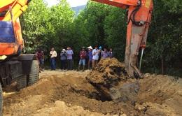 Bùn thải Formosa chôn lấp trái phép có lẫn chất xyanua vượt ngưỡng quy định