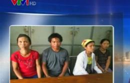 Nghệ An bắt nhóm đối tượng buôn bán trẻ em sang Trung Quốc