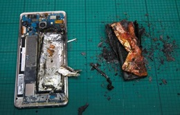 Galaxy Note7 nổ tung trong bài kiểm tra pin