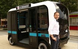 Xe bus tự lái được sản xuất bằng công nghệ 3D