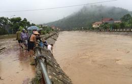 11 người chết và mất tích do mưa lũ ở Lào Cai