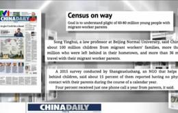 60 triệu đứa trẻ bị bỏ mặc ở nông thôn Trung Quốc
