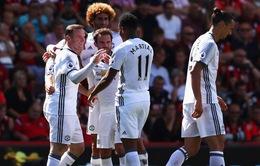Kết quả vòng 1 Ngoại hạng Anh: Man Utd lên ngôi đầu, Arsenal suýt đội sổ