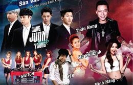 Tuấn Hưng, Minh Hằng đứng chung sân khấu Spark Concert với sao Hàn