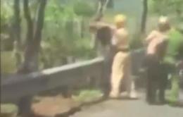 Công an Lâm Đồng lên tiếng về clip cảnh sát đánh người