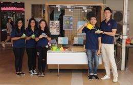 SV Việt Nam lọt vào vòng chung kết cuộc thi Doanh nhân Trẻ tại Singapore