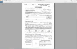 Cách ghi 19 mục trong Phiếu đăng ký dự thi THPT quốc gia 2016